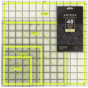 "882670141A Ruler Acrylic Template 6.5/"" x 24/"""