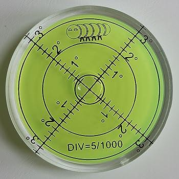 diametro 25 mm Livella circolare Sola