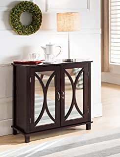 Best wood and mirror console table Reviews