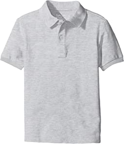 Nautica Kids - Husky Short Sleeve Pique Polo (Big Kids)
