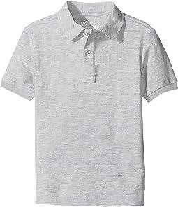 Nautica Kids Husky Short Sleeve Pique Polo (Big Kids)