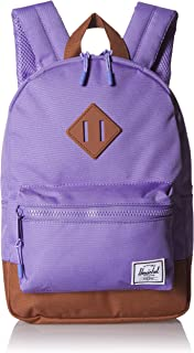 Herschel Heritage Kid's Backpack, aster Purple/Saddle Brown, One Size