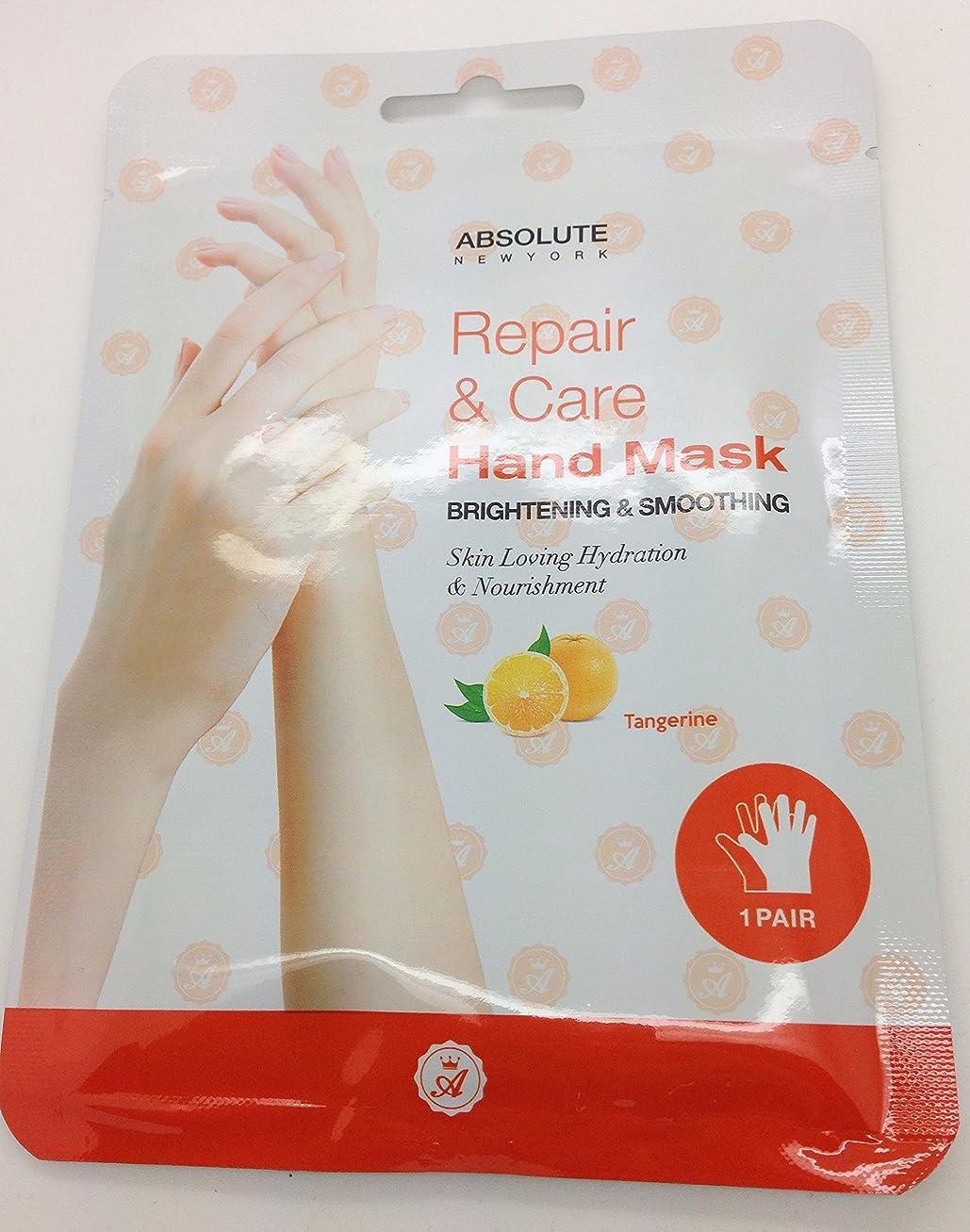 黒人恵みペースAbsolute Repair & Care Hand Mask - Tangerine (並行輸入品)