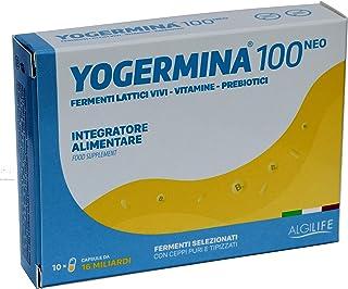 YOGERMINA 10 Cápsulas (contenido x una cps): SPORE 11 MILIARDI + FERMENTOS LATICOS VIVI 5 MILIARDI + PREBIOTICI + VITAMINE