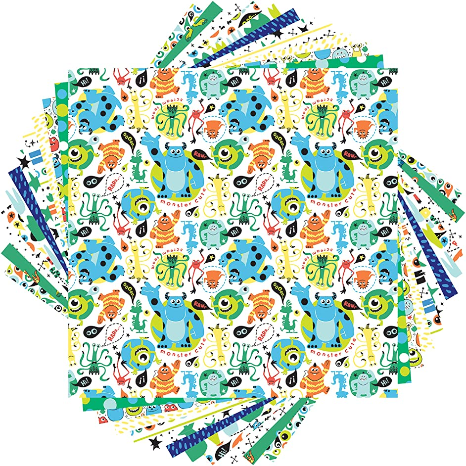 Cricut 2005868 Deluxe Paper, Monsters