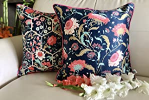 TARA- Sparkling Homes Silk and Cotton Blend Homes Enchanted Forest from Hawaiian Paradise Collection Silk and Cotton...
