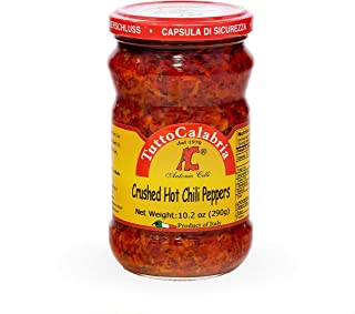 Crushed Calabrian Chili Peppers 10 oz (290 g) by Tutto Calabria