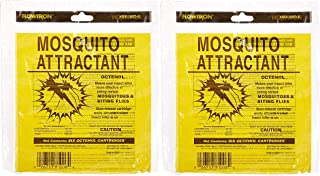Flowtron MA-1000-6 Octenol Mosquito Attractant Cartridges (2 X Pack of 6)