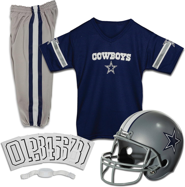 Franklin Sports Dallas Cowboys Kids Albuquerque Mall Football Max 81% OFF - NFL Y Set Uniform