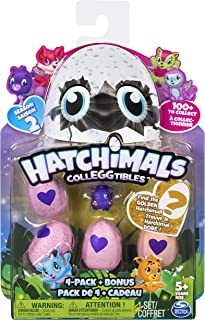 Hatchimals Collegtibles 4 Pack + Bonus Season 2