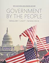 Government By the People, 2014 Election Update Plus NEW MyPoliSciLab for American Government -- Access Card Package (25th Edition)