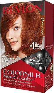 Revlon Colorsilk Haircolor, Medium Auburn, 4.40 Total Ounces (Pack of 3)