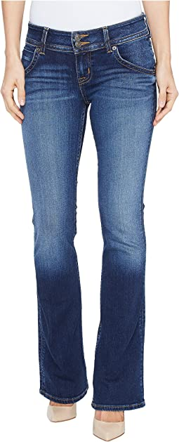 Hudson - Petite Signature Bootcut Flap Pocket Jeans in Patrol Unit 2