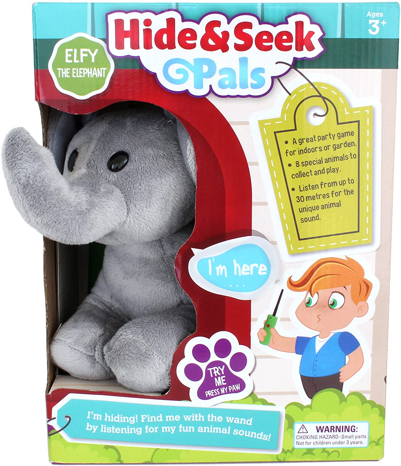 Hide and Seek Safari Jr  Elephant