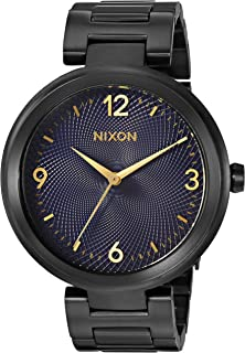 Nixon Women's 'Chameleon' Quartz Stainless Steel Watch, Color:Black (Model: A991541-00)