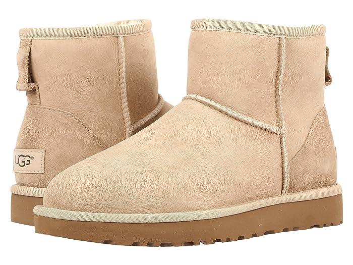 UGG  Classic Mini II (Sand) Womens Boots