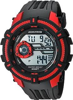 Armitron Sport Men's 40/8384 Digital Chronograph Resin Strap Watch