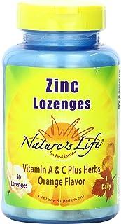 Nature's Life Zinc Lozenges   50 ct
