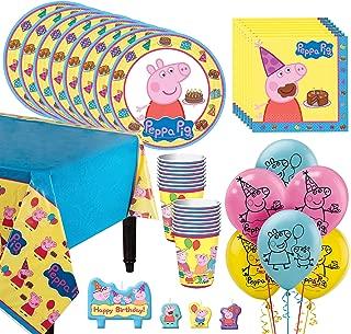 Best peppa pig birthday supplies Reviews