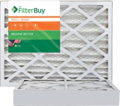 AFB Bronze MERV 6 20x20x4 Pleated AC Furnace Air Filter. Pack of 2 Filters. 100% produced in the USA.