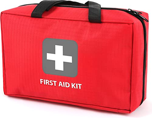First Aid Kit – 291 Pieces of First Aid Supplies | Hospital Grade Medical Supplies for Emergency and Survival Situati...