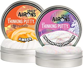Crazy Aaron's Thinking Putty Enchanting Unicorn and Amber 4