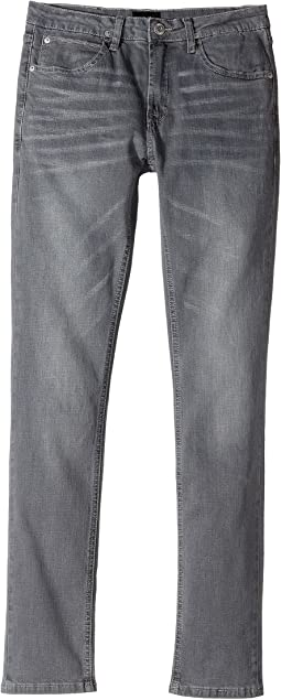 Jude Slim Leg Fit Five-Pocket in Heavy Metal (Big Kids)