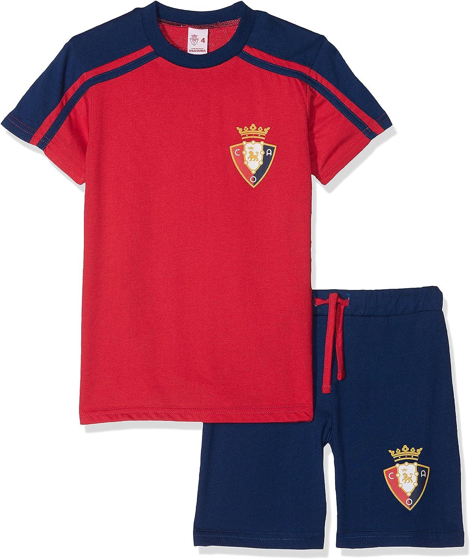 Club Atlético Osasuna Pijosa Pijama Corta, Infantil