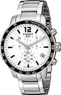 Men's T0954171103700 Quickster Analog Display Swiss Quartz Silver Watch