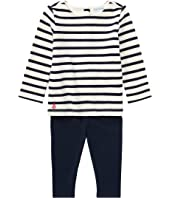 Ralph Lauren Baby Nautical Top & Leggings Set (Infant)