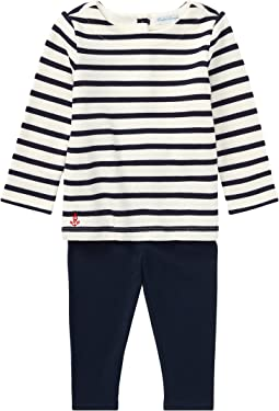 Ralph Lauren Baby - Nautical Top & Leggings Set (Infant)