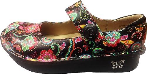Alegria Wohommes Paloma Exclusive Professional chaussures chaussures (38 M EU 8-8.5 B(M) US, Paisley Party)  en ligne au meilleur prix