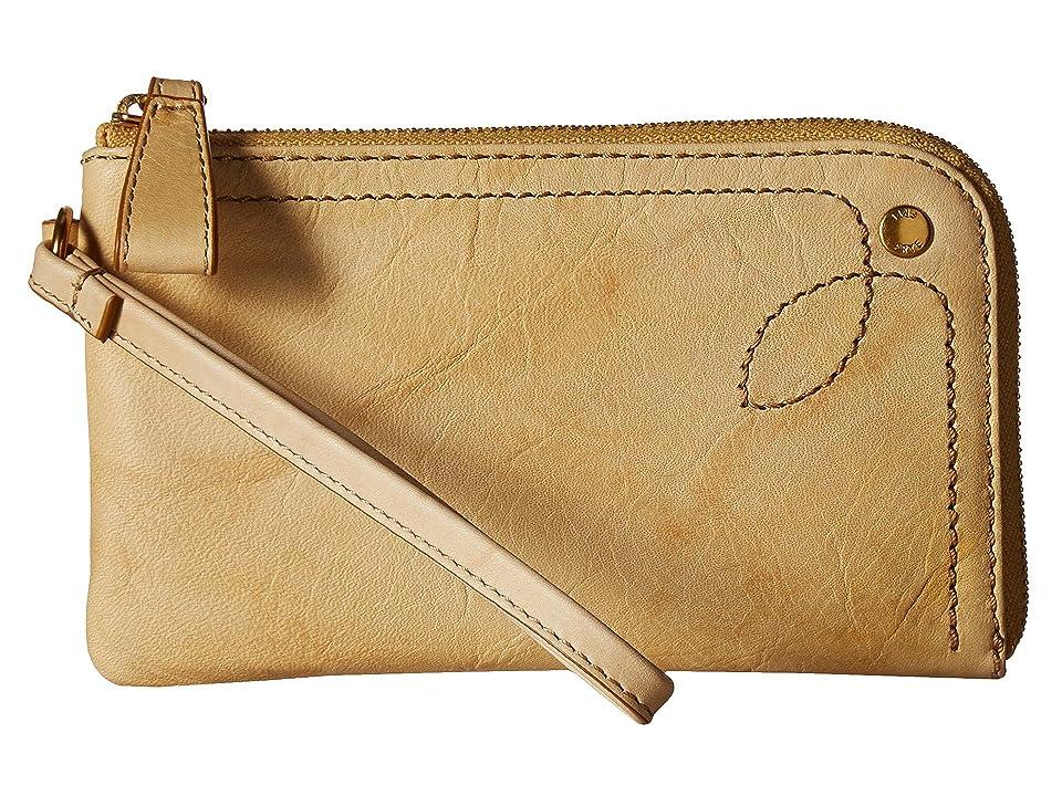 Frye Campus Rivet Wristlet (Banana Dakota) Wristlet Handbags