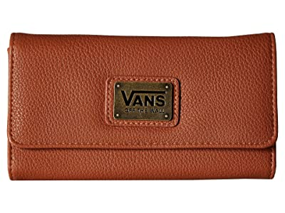 Vans Chained Reaction Wallet (Saddle/Mixed Floral) Wallet Handbags