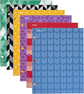 Mead Pocket Folders, 2-Pocket, 12