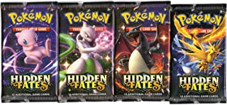 Hidden Fates - Pokemon Single Booster Pack (10 Cards)