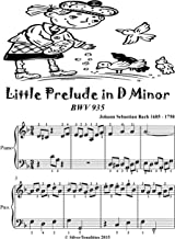 Little Prelude in D Minor Bwv 935 Easiest Piano Sheet Music Tadpole Edition