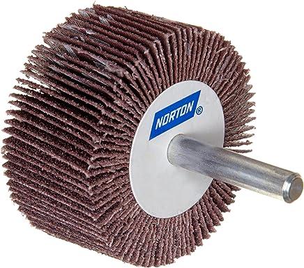 1-1//2 Face Width St Gobain Abrasives 63642502686 6200 Max RPM Aluminum Oxide 1-1//2 Face Width 1 Arbor Norton Metalite R265 Abrasive Flap Wheel Pack of 1 1 Arbor 6 Dia 6 Dia. Round Hole Grit 60