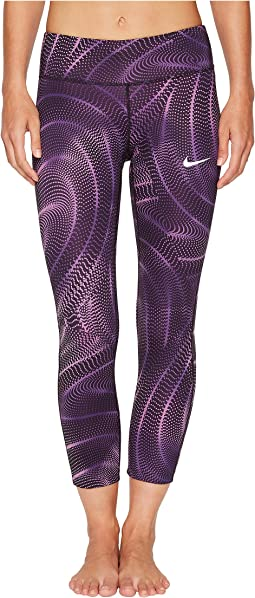 Nike - Power Essential Print Running Crop