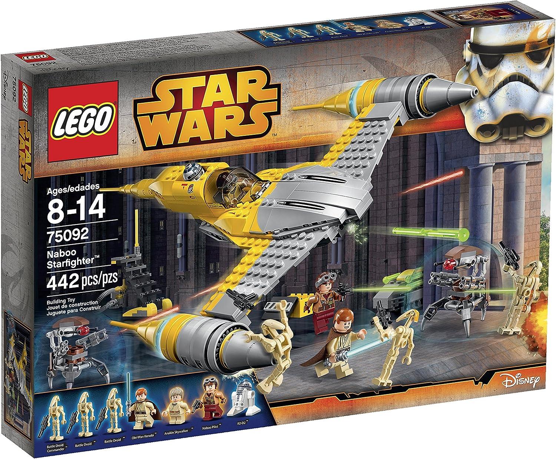 grandes ahorros LEGO Estrella Wars Naboo Estrellafighter 75092 Building Kit Kit Kit by LEGO  la mejor oferta de tienda online