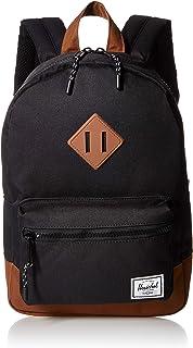حقيبة ظهر هيرشل هيريتج, , Black/Saddle Brown - 10313-02462-OS