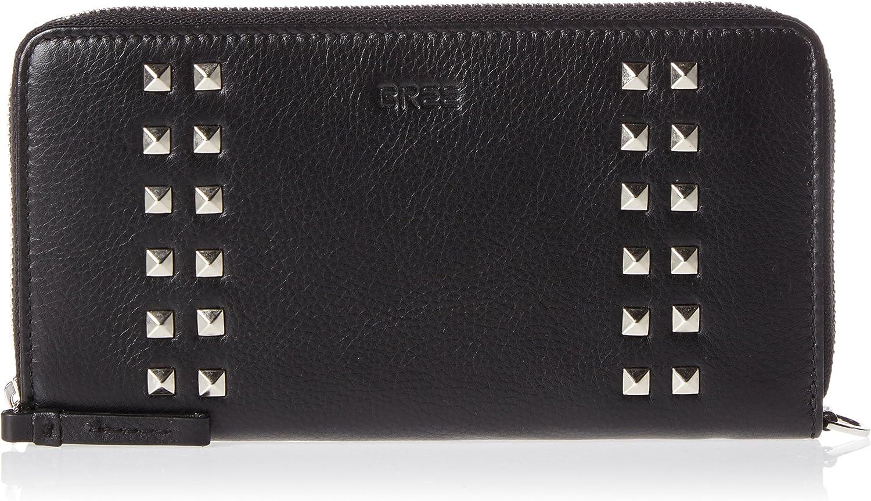 BREE Women's Issy 131, Black Rivet, Zip. L. Purse W17 Purse UK One Size