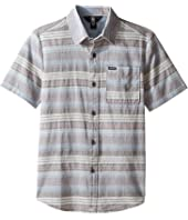 Volcom Kids - Clockwork Short Sleeve Woven Top (Big Kids)