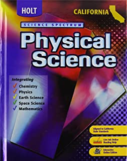 Holt Science Spectrum: Physical Science: Ìstudent Edition 2007