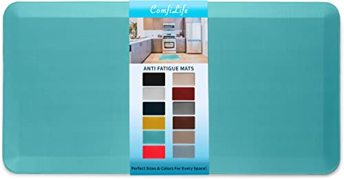 ComfiLife Anti Fatigue Floor Mat – 3/4 Inch Thick Perfect Kitchen Mat, Standing Desk Mat – Comfort at Home, Office, G...