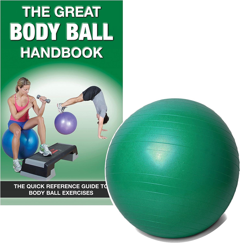 FIT1ST Fitness Erste Body Ball Set, Grün
