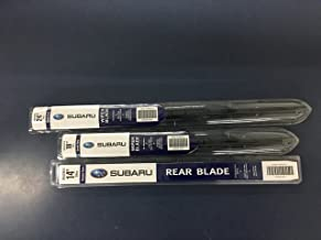 2005-2009 Subaru Outback & Legacy Front & REAR Windshield Wiper Blade Set OEM Genuine