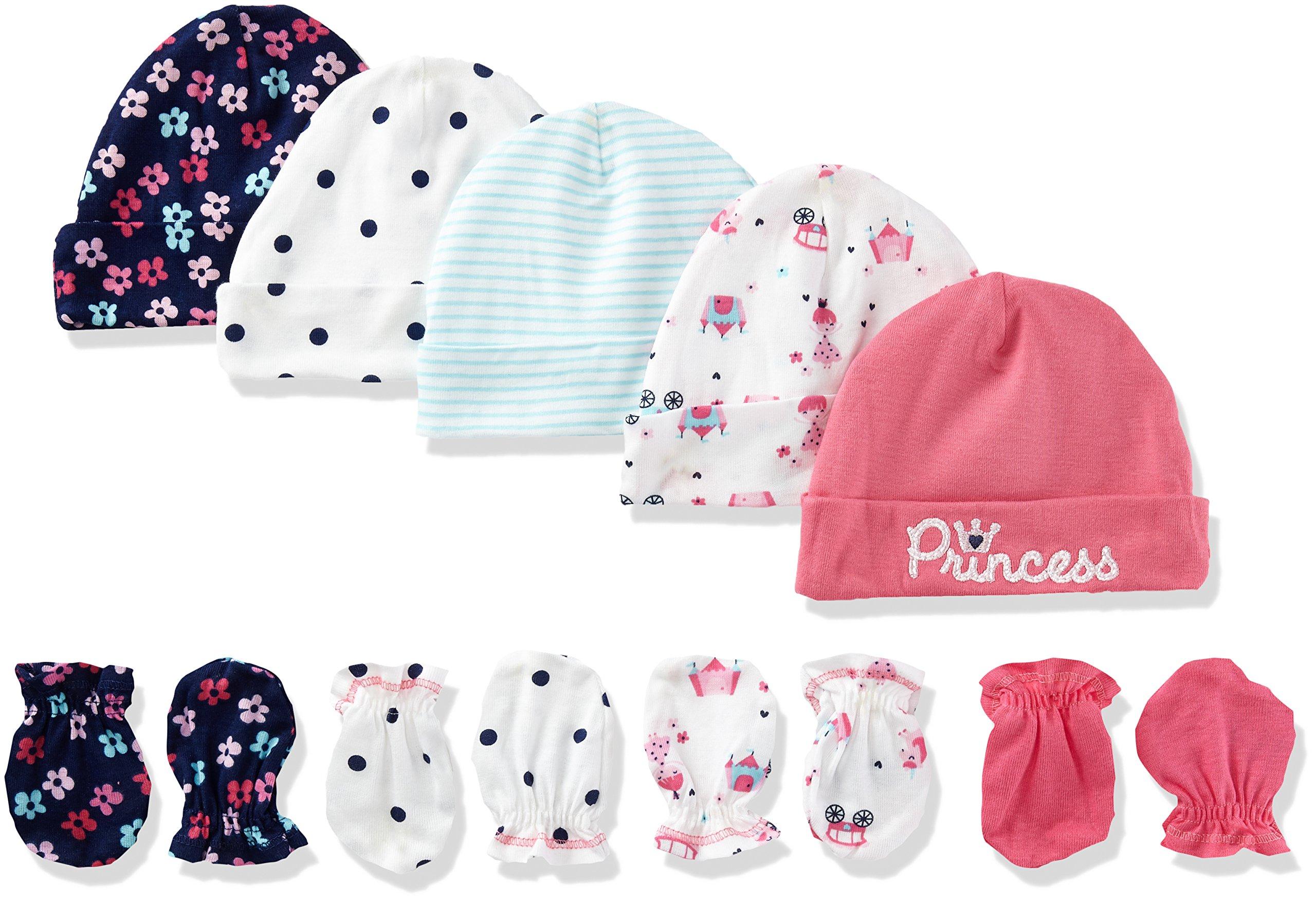 Gerber 9 Piece Mitten Princess Newborn