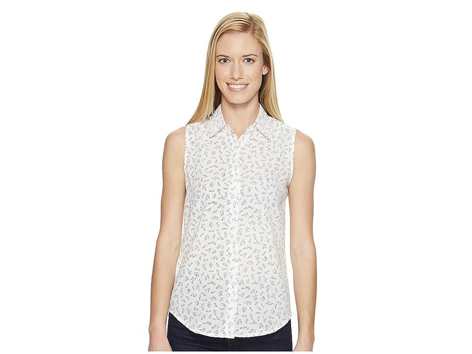 United By Blue Sleeveless Primrose Shirt (Ivory) Women