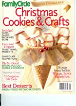 Family Circle Christmas Cookies & Crafts Special Keepsake Issue Fall 2002